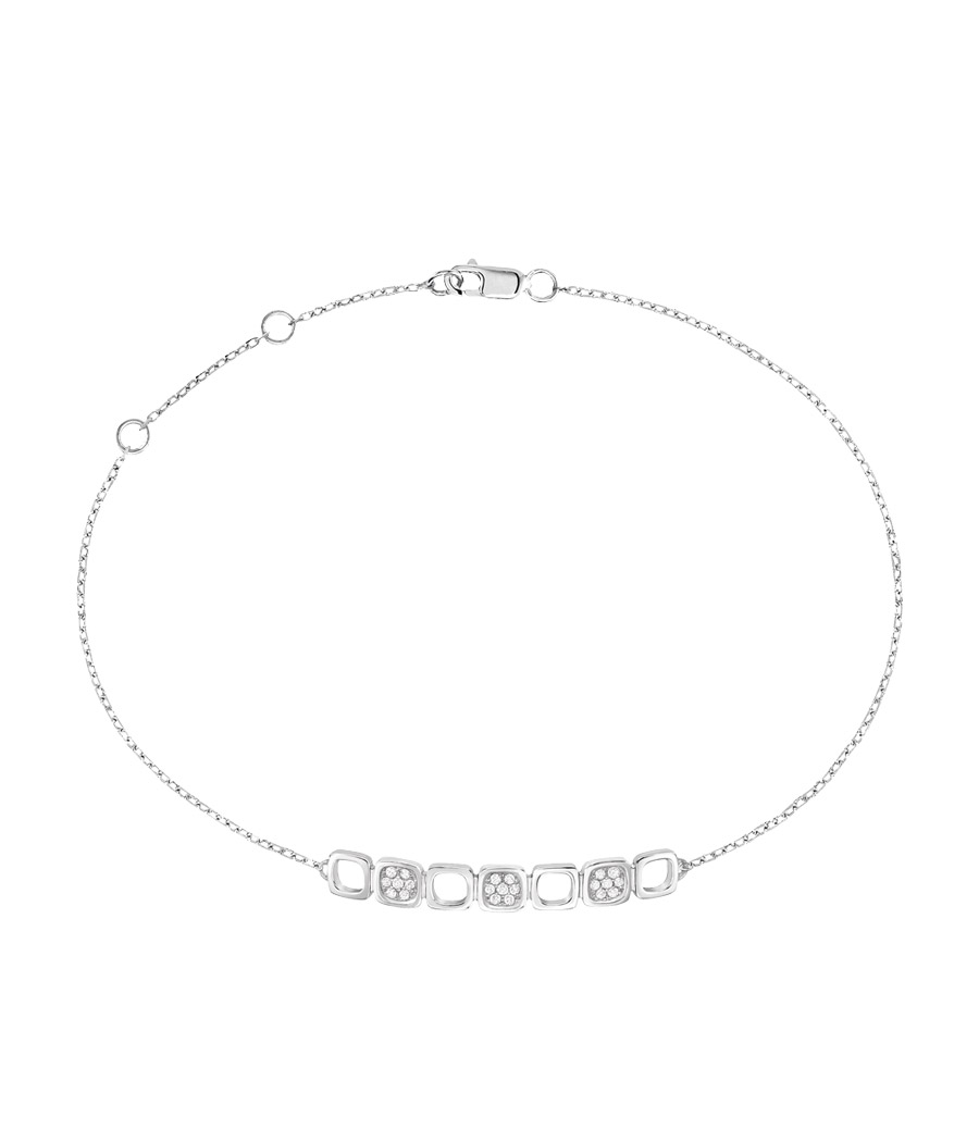 Dinh Van Bracelets Or Blanc Diamants